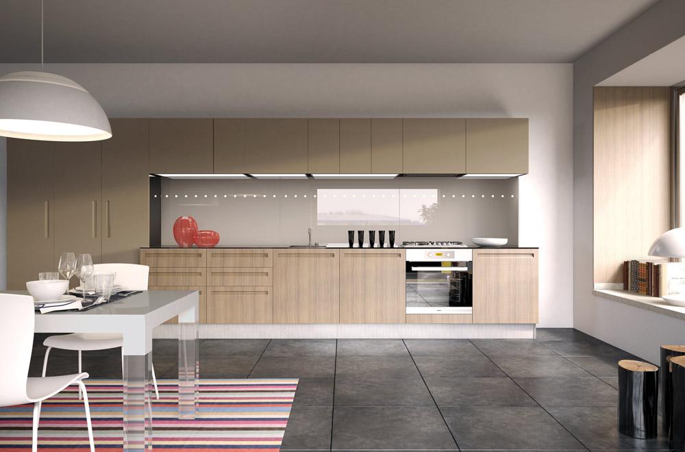 Cucina campiglio lab kitchens collection scic italia - Maniglie cucina scavolini ...