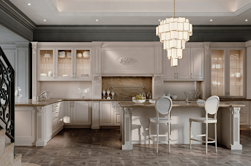 Palatina scic - Cucine stile country chic ...