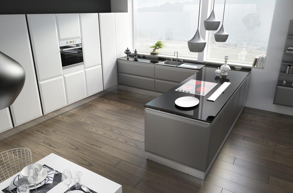 Cucine moderne funzionali - Cucine colorate moderne ...
