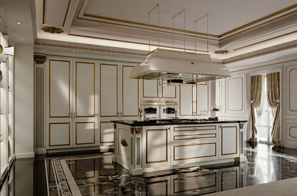 Pics Photos - Commento Per Cucina Classica Elegante