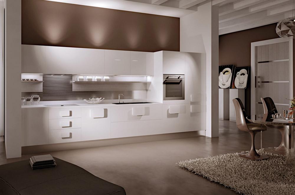 Cucine Moderne Bianche E Nere. Il Colore Qualche Dritta Pratica Per ...