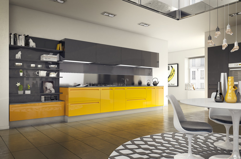 Cucine Colorate. Interesting Data With Cucine Colorate. Simple Swing ...