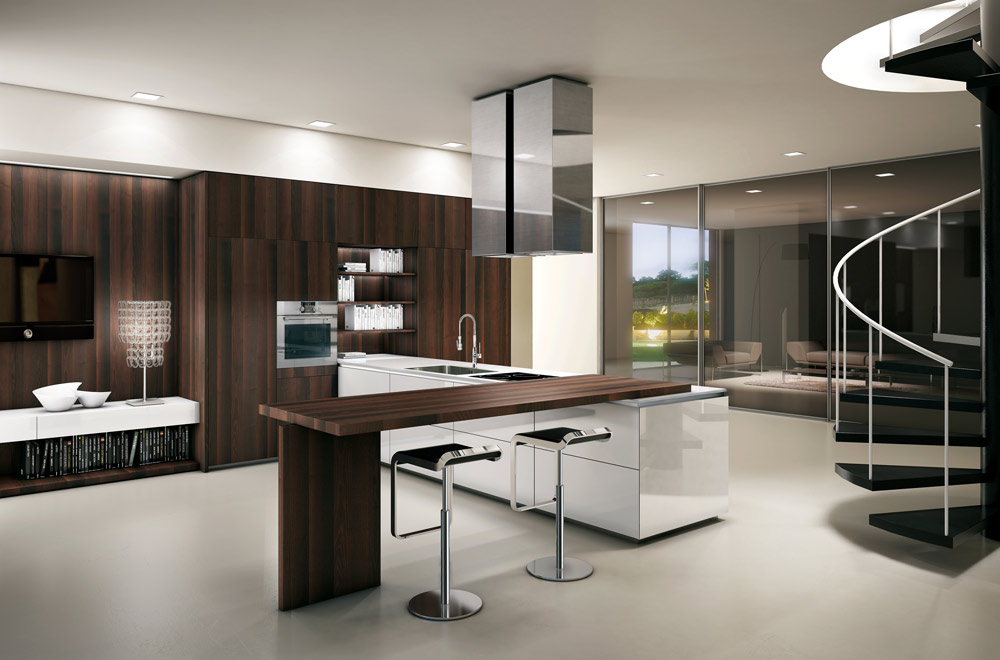 Cucine scic for Case moderne interni cucine
