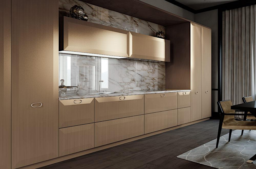 Cucine design di lusso   arredare una cucina moderna progetti ...